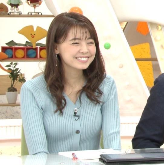 宮澤智アナ エッチな胸のふくらみキャプ・エロ画像2
