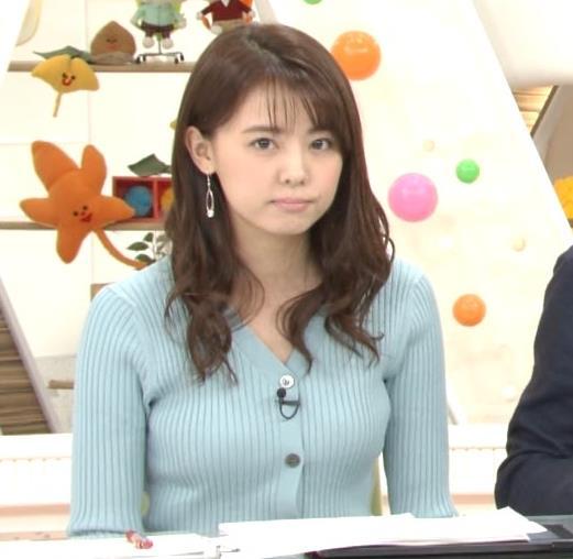 宮澤智アナ エッチな胸のふくらみキャプ・エロ画像4
