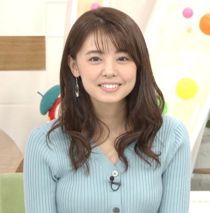 宮澤智アナ エッチな胸のふくらみキャプ・エロ画像5