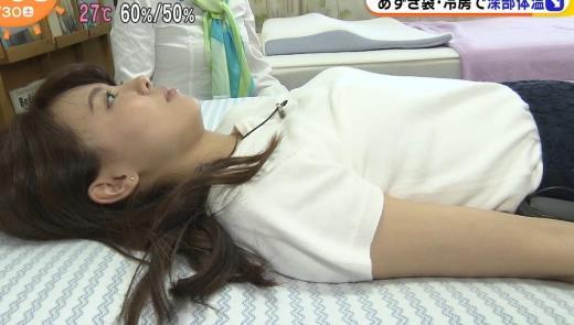 宮澤智 寝そべったおっぱいキャプ画像(エロ・アイコラ画像)