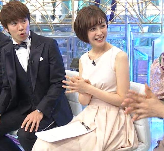 宮司愛海アナ セクシーなノースリーブキャプ・エロ画像6