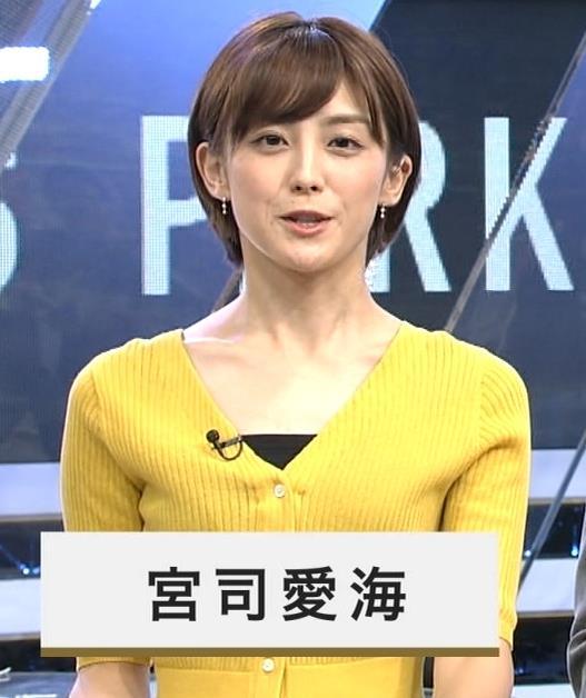 宮司愛海アナ 「S-PARK スパーク」キャプ・エロ画像