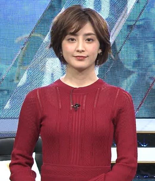 宮司愛美アナ ピチピチなニットでエロいおっぱいキャプ・エロ画像2
