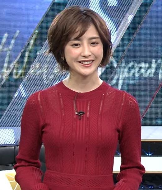 宮司愛美アナ ピチピチなニットでエロいおっぱいキャプ・エロ画像3