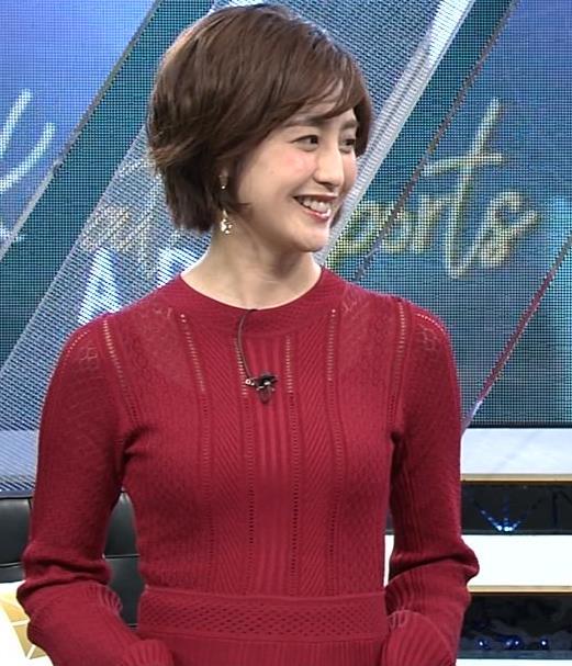 宮司愛美アナ ピチピチなニットでエロいおっぱいキャプ・エロ画像4