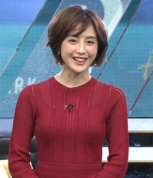 宮司愛美アナ ピチピチなニットでエロいおっぱいキャプ・エロ画像6