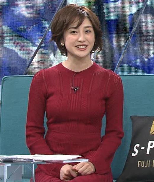 宮司愛美アナ ピチピチなニットでエロいおっぱいキャプ・エロ画像8