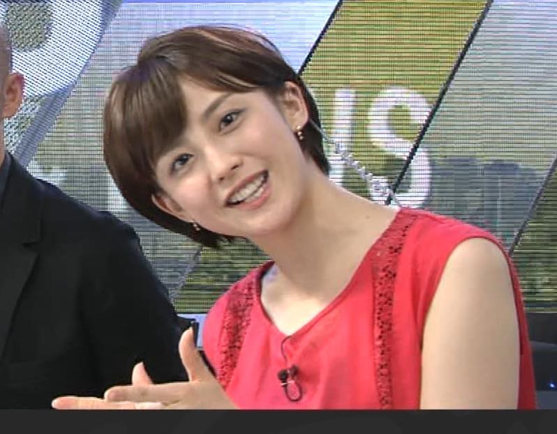宮司愛海アナ ノースリーブ★ちっぱいキャプ・エロ画像11