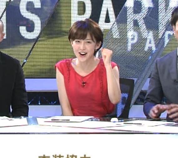 宮司愛海アナ ノースリーブ★ちっぱいキャプ・エロ画像12
