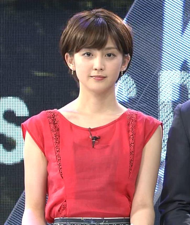 宮司愛海アナ ノースリーブ★ちっぱいキャプ・エロ画像4