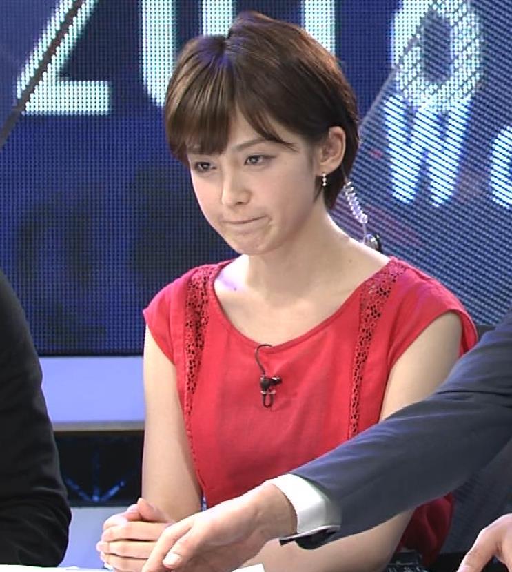 宮司愛海アナ ノースリーブ★ちっぱいキャプ・エロ画像5