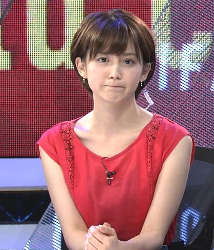 宮司愛海アナ ノースリーブ★ちっぱいキャプ・エロ画像9