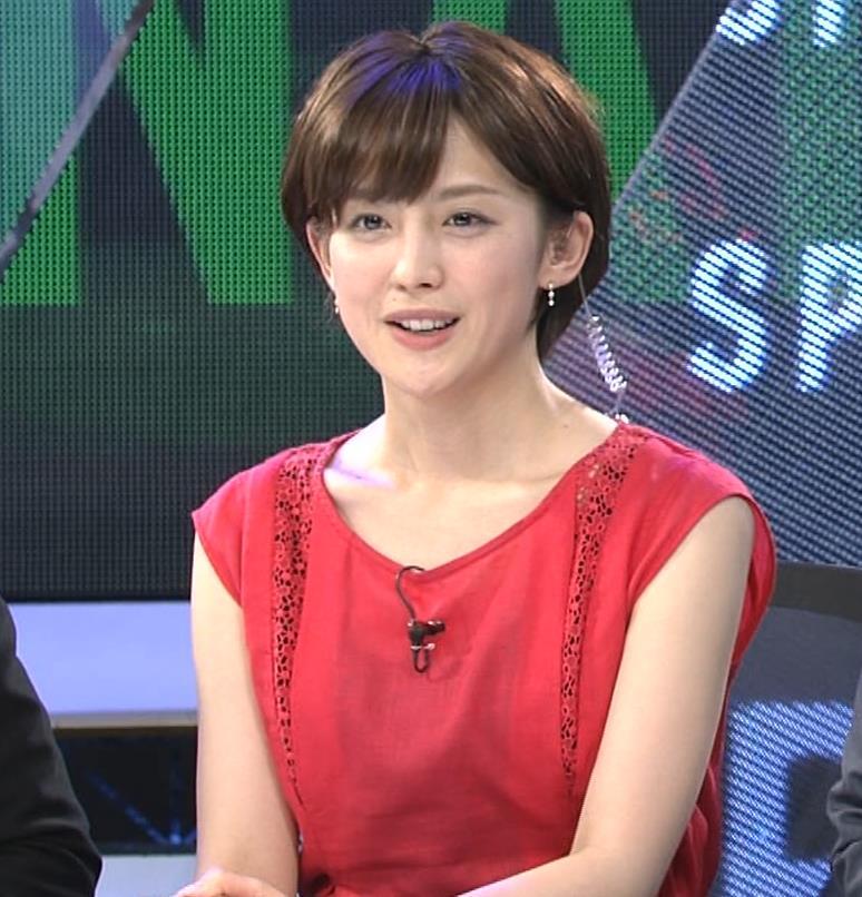 宮司愛海アナ ノースリーブ★ちっぱいキャプ・エロ画像10