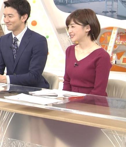 宮司愛海アナ ふっくらニットおっぱい♡キャプ・エロ画像5