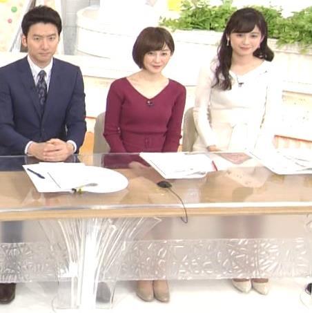 宮司愛海アナ ふっくらニットおっぱい♡キャプ・エロ画像7