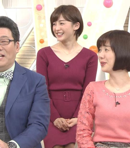 宮司愛海アナ ふっくらニットおっぱい♡キャプ・エロ画像8
