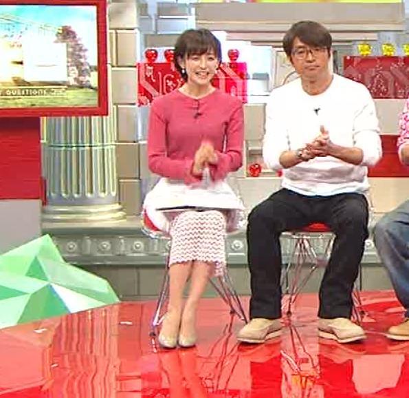 宮司愛海アナ ニットおっぱい(さまぁ~ずの神ギ問みんな大好きお金の疑問SP)キャプ・エロ画像8