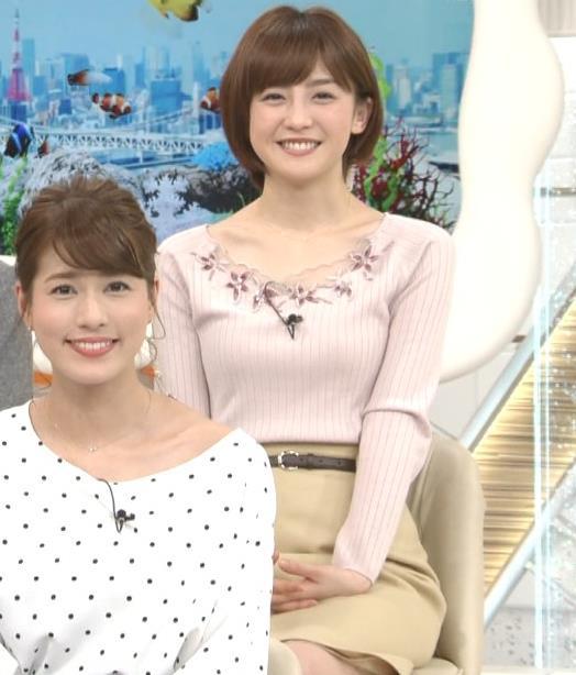宮司愛海アナ ニットちっぱいキャプ・エロ画像4