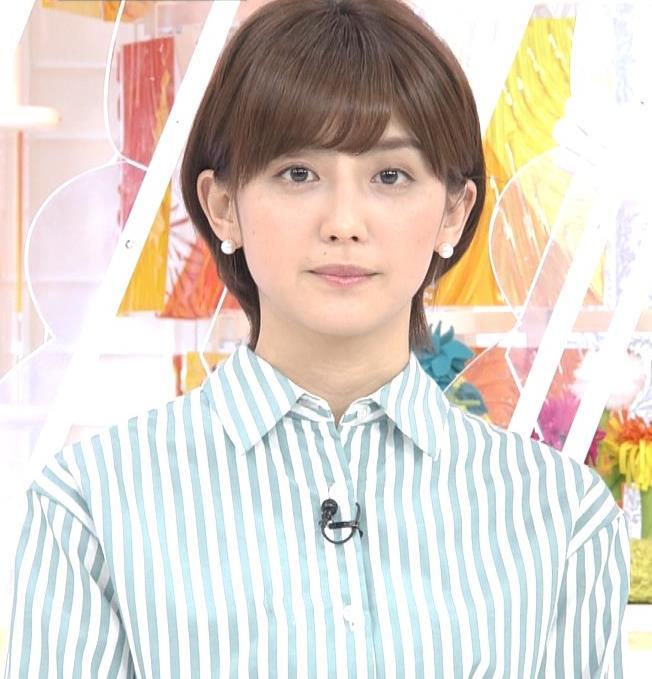 宮司愛海アナ 紺のスカートキャプ・エロ画像4