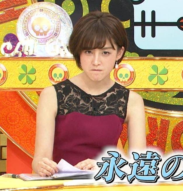 宮司愛海アナ ノースリーブのワキがエロ!キャプ・エロ画像3