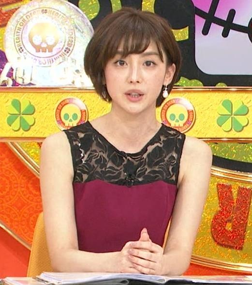 宮司愛海アナ ノースリーブのワキがエロ!キャプ・エロ画像4