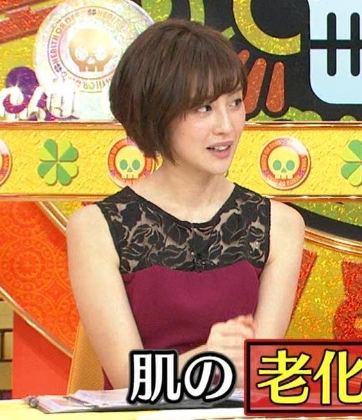 宮司愛海アナ ノースリーブのワキがエロ!キャプ・エロ画像7