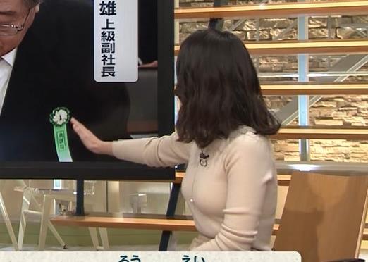 森川夕貴アナ 最近の乳のエロさは最高!キャプ・エロ画像
