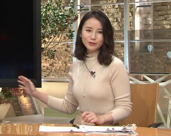 森川夕貴アナ 最近の乳のエロさは最高!キャプ・エロ画像2