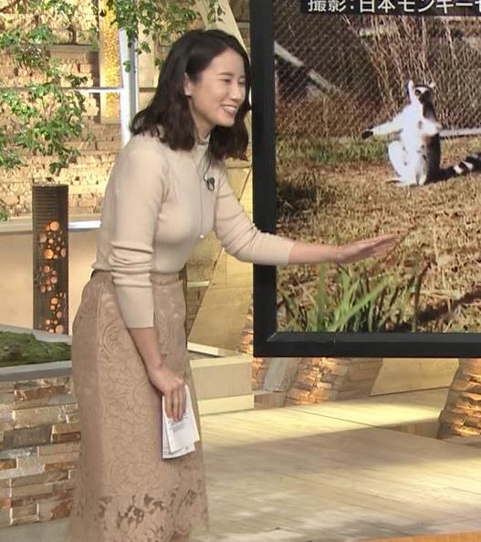 森川夕貴アナ 最近の乳のエロさは最高!キャプ・エロ画像17