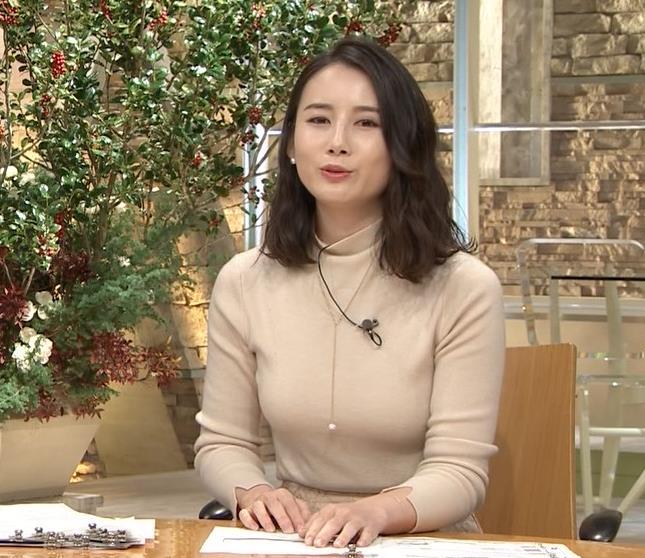 森川夕貴アナ 最近の乳のエロさは最高!キャプ・エロ画像9