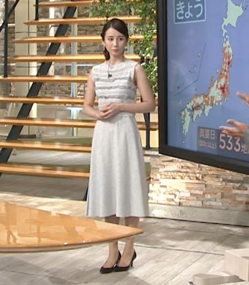 森川夕貴アナ またおっぱい強調されたノースリーブキャプ・エロ画像11