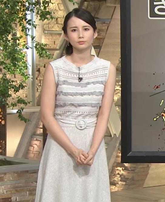 森川夕貴アナ またおっぱい強調されたノースリーブキャプ・エロ画像10