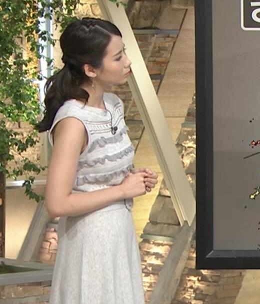 森川夕貴 またおっぱい強調されたノースリーブキャプ画像(エロ・アイコラ画像)