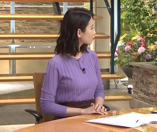 森川夕貴アナ 最近のおっぱいの主張がいい感じキャプ・エロ画像2