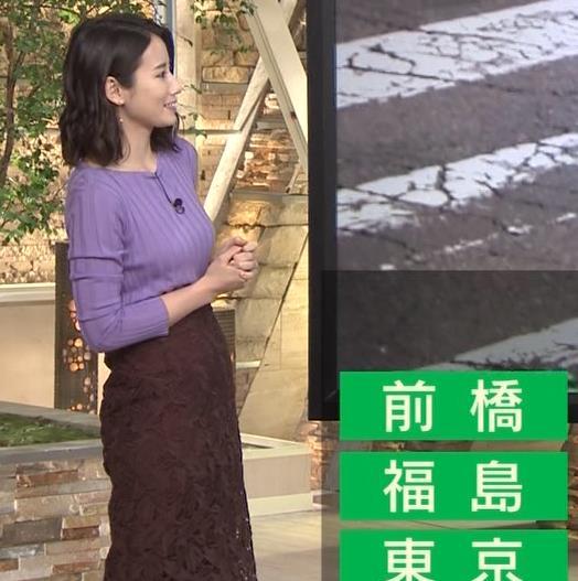 森川夕貴アナ 最近のおっぱいの主張がいい感じキャプ・エロ画像12