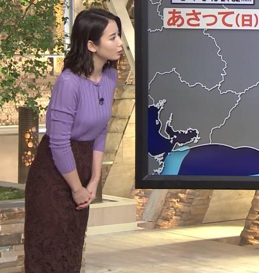 森川夕貴アナ 最近のおっぱいの主張がいい感じキャプ・エロ画像13
