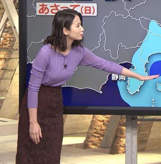 森川夕貴アナ 最近のおっぱいの主張がいい感じキャプ・エロ画像14
