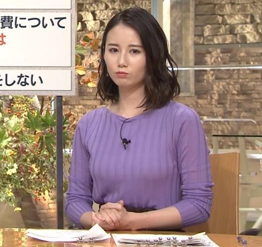森川夕貴アナ 最近のおっぱいの主張がいい感じキャプ・エロ画像3