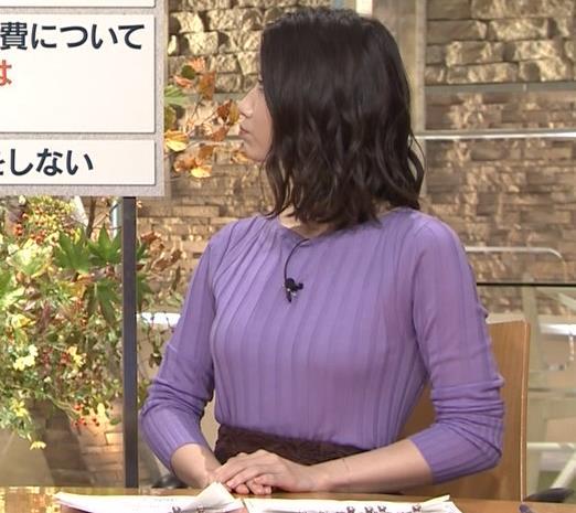 森川夕貴アナ 最近のおっぱいの主張がいい感じキャプ・エロ画像4