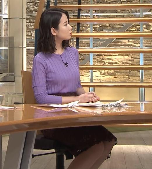 森川夕貴アナ 最近のおっぱいの主張がいい感じキャプ・エロ画像5