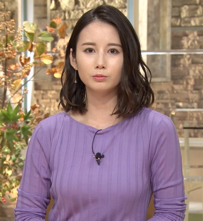 森川夕貴アナ 最近のおっぱいの主張がいい感じキャプ・エロ画像6