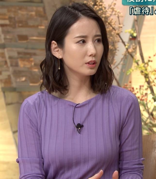森川夕貴アナ 最近のおっぱいの主張がいい感じキャプ・エロ画像7
