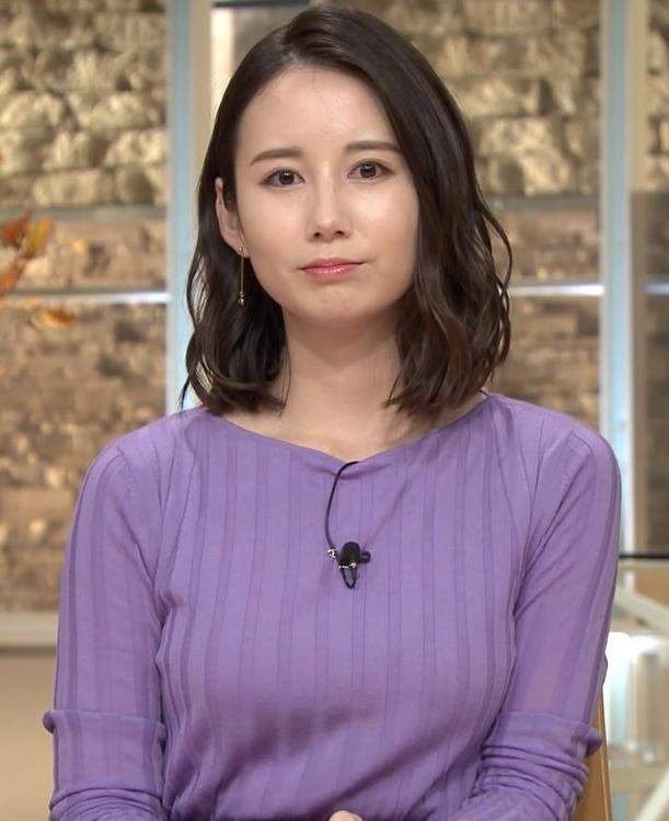 森川夕貴アナ 最近のおっぱいの主張がいい感じキャプ・エロ画像9