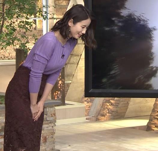 森川夕貴アナ 最近のおっぱいの主張がいい感じキャプ・エロ画像10