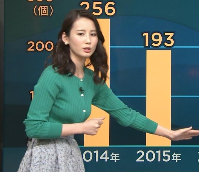 森川夕貴アナ さらに巨乳化してるよねキャプ・エロ画像8
