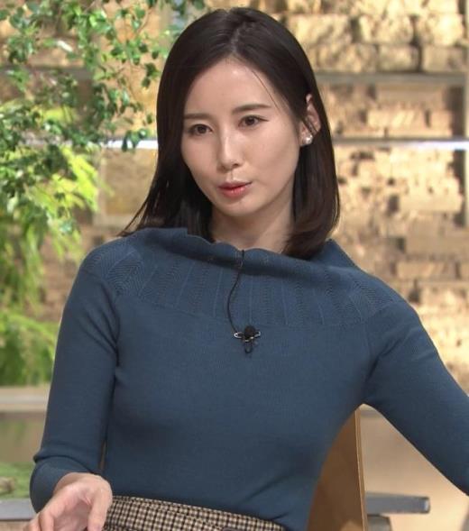 森川夕貴アナ 胸のふくらみがエロいニットキャプ画像(エロ・アイコラ画像)