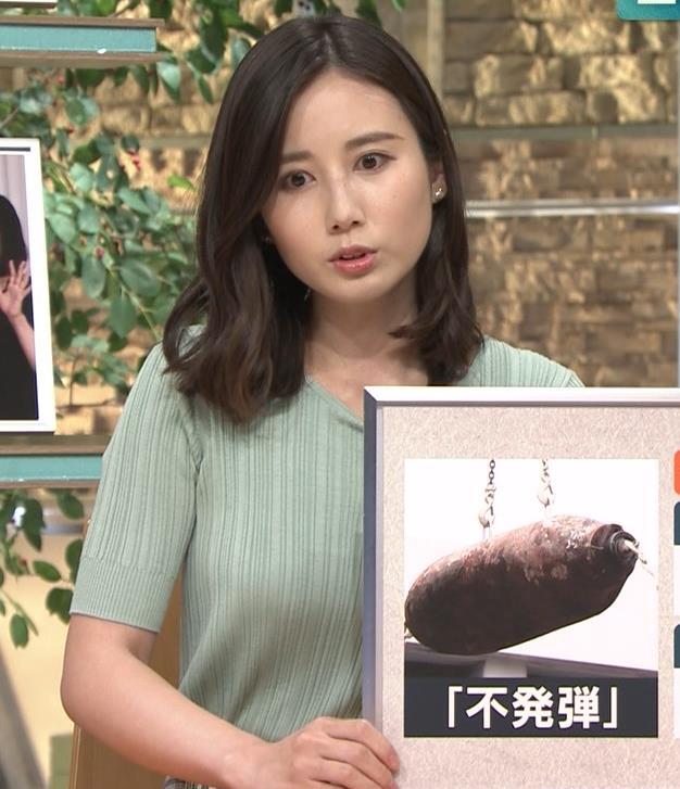 森川夕貴アナ 横乳えっろキャプ・エロ画像6