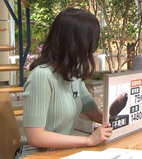 森川夕貴アナ 横乳えっろキャプ・エロ画像7