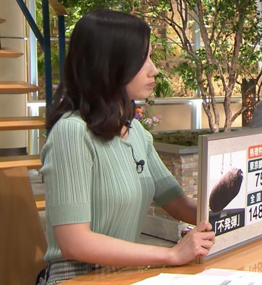 森川夕貴アナ 横乳えっろキャプ・エロ画像8