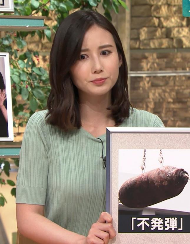 森川夕貴アナ 横乳えっろキャプ・エロ画像9